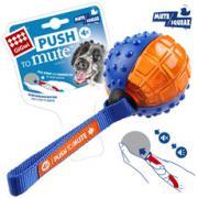 GIGwi (Гигви) 75327 Gigwi Игрушка для собаки Резиновый мяч с пищалкой.