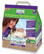 Cats Best Nature Gold Наполнитель древесный комкующийся 10л*5кг