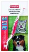 Beaphar (Беафар) Beaphar «Toothbrush» зубная щетка двухразмерная для...