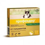 Bayer Profender капли от глистов для кошек