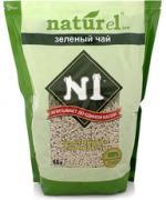 """№1 № 1 Naturel комкующийся наполнитель """"Зеленый чай"""" 4.5 л."""