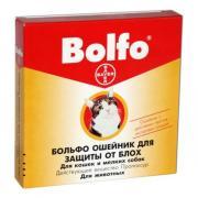 Bayer Bolfo ошейник от блох и клещей для кошек и собак мелких пород 35...