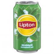 Lipton Ice Tea / Липтон Зеленый чай 0,33л ж/б (12шт)
