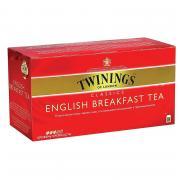 Чай Twinings English Breakfast Tea черный 25пакетиков