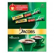 Кофе порционный растворимый Jacobs Monarch 26пакетиков по1.8г