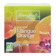Чай черный байховый ароматизированный mango orange, simon levelt
