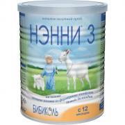 Бибиколь Нэнни 3 Молочная смесь на основе козьего молока от 1 года 400...