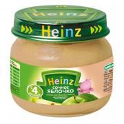 Пюре Heinz сочное яблочко, с 4 мес, 80 г