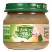 Пюре Heinz спелая грушка, с 4 мес, 80 г