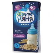 Каша ФрутоНяня молочно-пшеничная с 6 мес, 200 г