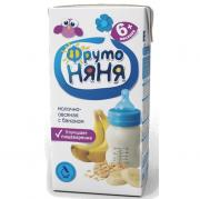 Каша ФрутоНяня молочно-овсяная с бананами с 6 мес, 200 г