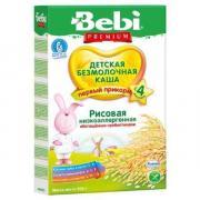 Каша Bebi (Беби) рисовая низкоаллергенная с пребиотиками с 4 мес. 200...