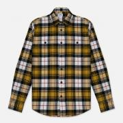 Мужская рубашка Edwin Labour Mustard Garment Washed