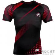 Рашгард Venum Rapid Black/Red S/S Venum