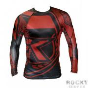 Рашгард Contract Killer Red/Black Rashguard L/S Contract Killer