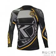 Рашгард Contract Killer Black & Yellow Rashguard Longsleeve Contract...