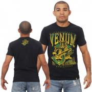 Футболка Venum Jose Aldo Vitoria T-shirt - Black/Green
