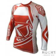 Рашгард Contract Killer Red/White Rashguard L/S Contract Killer