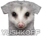 Футболка Big Face Opossum