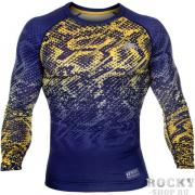 Рашгард Venum Tropical Blue/Yellow L/S Venum