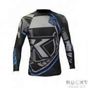 Рашгард Contract Killer Black & Blue Rashguard Long Contract Killer