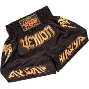 Шорты тайские Venum Tribal Muay Thai Shorts - Black