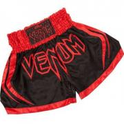 Шорты тайские Venum Korat Muay Thai Shorts - Black/Red