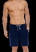 Модные мужские шорты из хлопка синего цвета с кармашком SCHIESSER...