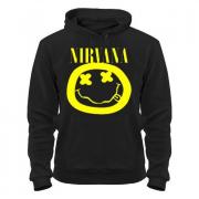 Толстовка с капюшоном Nirvana