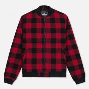 Мужская куртка бомбер Penfield Glendale Buffalo Plaid Red/Black