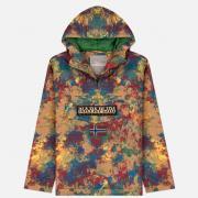 Мужская куртка анорак Napapijri Rainforest Fancy Fantasy Red