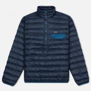 Мужская куртка анорак Patagonia Down Snap-T Navy Blue