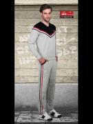 Мужской костюм для спорта и дома Doreanse Homewear 4815c03 серый