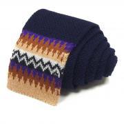 Стильный синий вязаный галстук носок Missoni 8ZAKDX