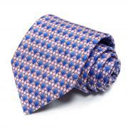 Сиреневый галстук с ромбиками Benjamin James 811560
