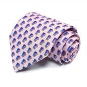 Нежный розовый молодежный галстук Benjamin James 811611