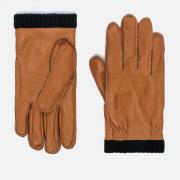 Мужские перчатки Hestra Deerskin Primaloft Ribbed Light Brown