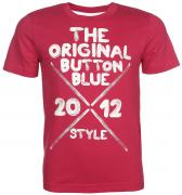 Button Blue Футболка