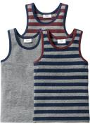 Майка (3 шт.), Размеры 92/98-176/182 (серый) - bpc bonprix collection