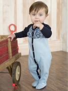 Комбинезон Мамуляндия для мальчика, цвет голубой