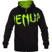 Толстовка Venum Undisputed Hoody Black yellow