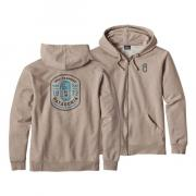 Толстовка Patagonia Ironmongers Badge Mw Full-Zip Hoody