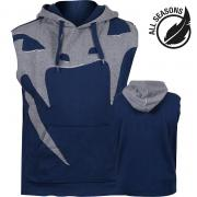 Толстовка Venum Attack Sleeveless Hoody Blue