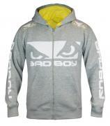 Толстовка Bad Boy Walk In 2.0 Hoodie - Grey/Yellow