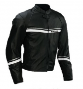 Куртка Kawasaki Stripes Leather Jacket (M)