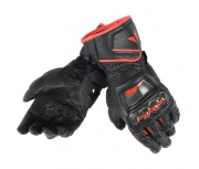 Перчатки мужские Dainese Druid Long D1 Gloves - Blk/Blk/Red (M)