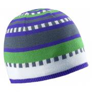 Шапка Salomon Junior Stripe Beanie детская синий
