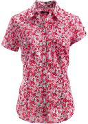 Блуза-рубашка с короткими рукавами (красный) - bpc bonprix collection