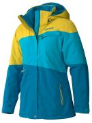 Куртка женская Marmot Wm'S Moonshot Jacket, Aqua Blue/Yellow Vapor, XS