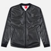 Женская куртка бомбер Nike Court Black/White/White